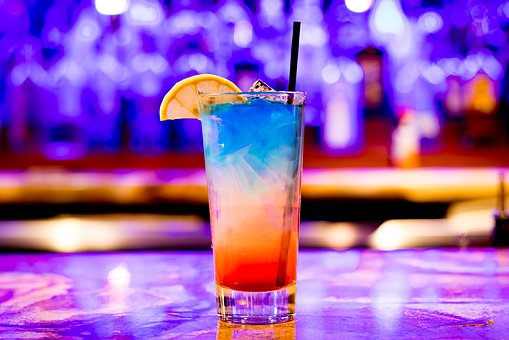 Multi coloured Cocktail
